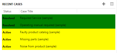Adding Row Colours to CRM 2013 Sub-Grids dynamically based