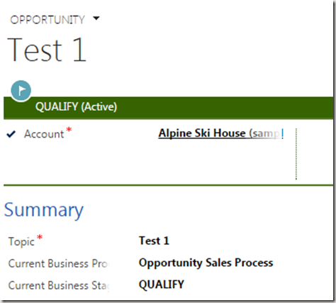 how to create business process flow in crm 2015