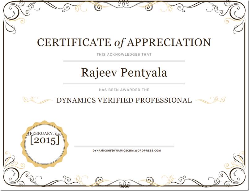 Dynamics Verified Professional Interview With Rajeev Pentyala