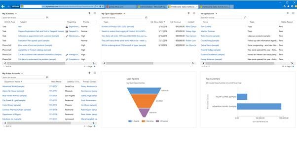 Quick Tip}Open Dashboards with URL in Dynamics CRM 2015/2016