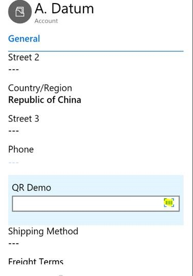 Quick Tip}QR Code Reader using Dynamics 365 | MSDYNAMICSBLOG